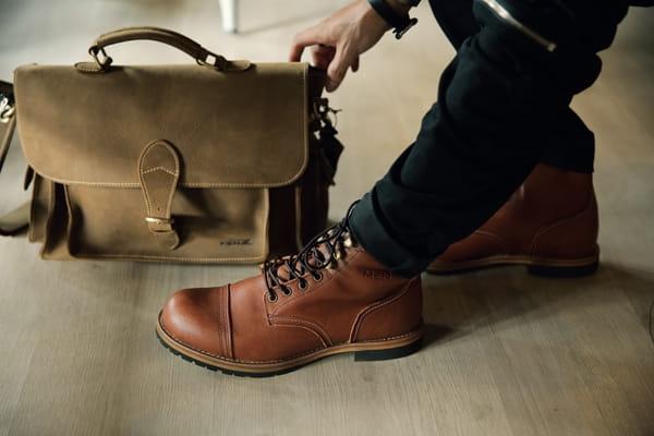 Mẫu giày da nam tại MenZ