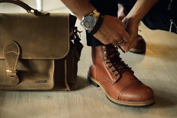 Một số mẫu giày cổ cao MenZ