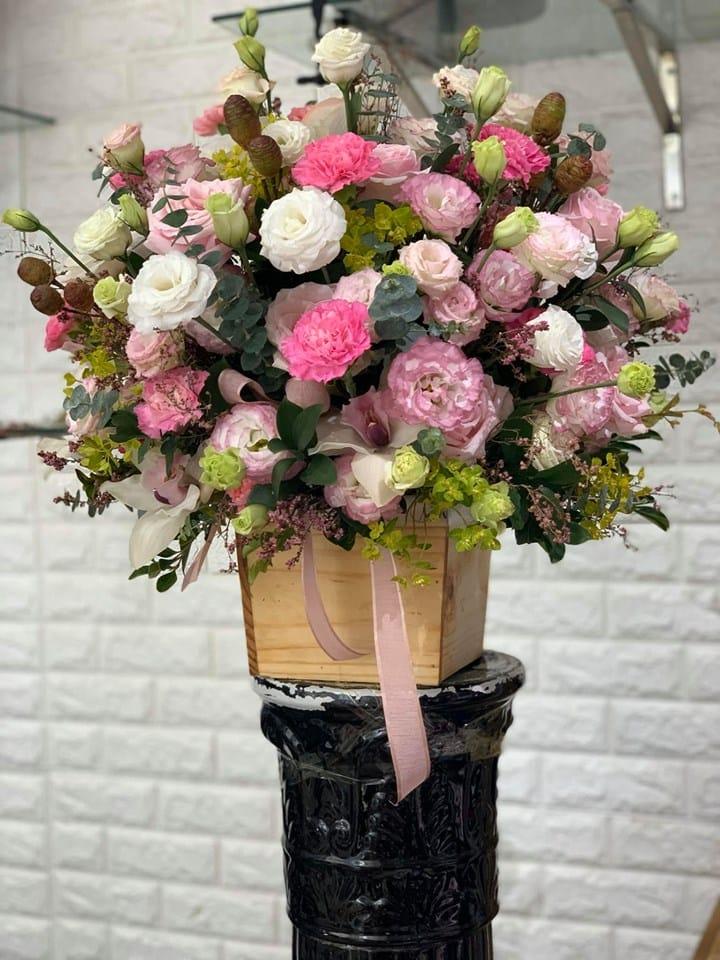 Shop có nhiều hoa mới lạ do sử dụng nhiều hoa nhập khẩu