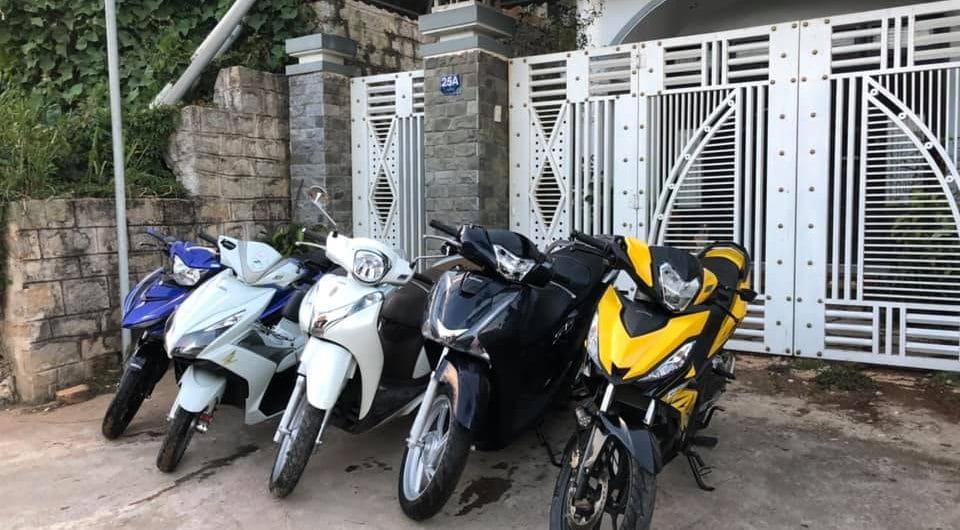 thuê xe máy ở tây ninh