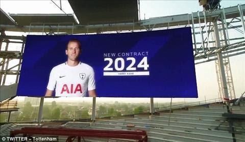 Harry Kane gia han hop dong họ 6 đã tới Tottenham